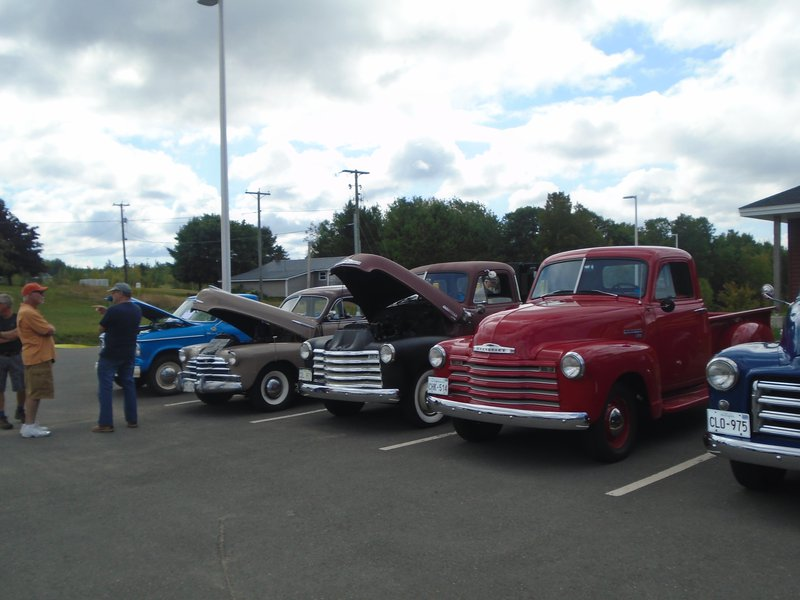 We host our Annual Car Show, usually in September, where we see upwards of 30 cars!  It's always a hit!